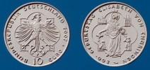 10 Euro Gedenkmünze Elisabeth von Thüringen