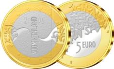 5 Euro Gedenkmünze Finnland EU-Präsidentschaft 2006